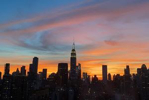 疲れ気味のあなたに贈る♡マンハッタンの夕日のエネルギー!