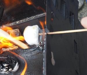 手作りおやつ 焼きマシュマロ編