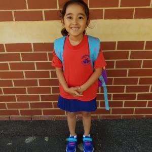 小学校入学 in オーストラリア