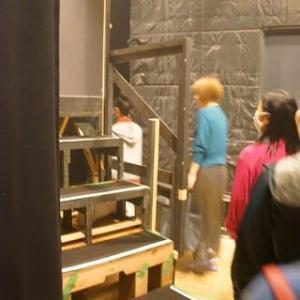 『カチナシ!』ウラ写真&ウラ話(16)劇場編・さて場当たりです  #カチナシ #ウラ話