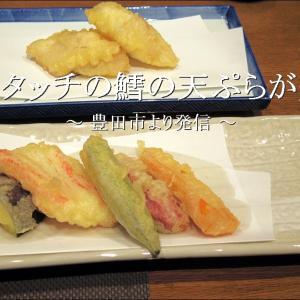 「鱈の天ぷら」は軽いタッチで優しい味わいの料理【自宅】