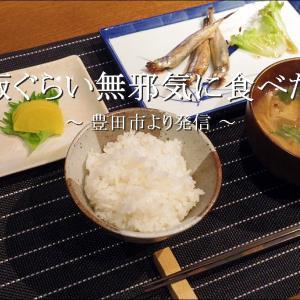 「ご飯と味噌汁」の朝ご飯ぐらい無邪気に食べたい【自宅】