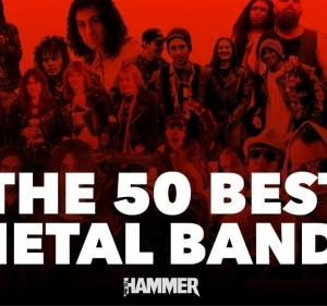The 50 best metal bands of all time(史上最高の50のメタルバンド)