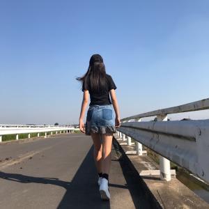 お散歩したら
