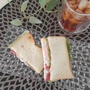 パパっとサンドイッチでひとり昼ごはん✨