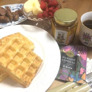 コロナ防衛策と本日の朝食