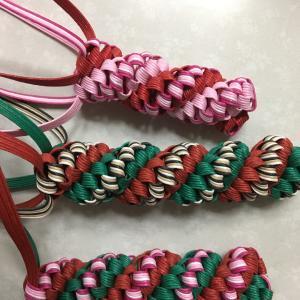 昨日から、四つだたみダブル編みリース!