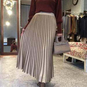 le MARAIS☆ニットプリーツスカート 素敵です❗️