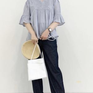ルイシャンタン☆インド綿の刺繍入りブラウス可愛いです^ ^