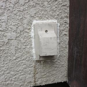 屋外の防水コンセント交換