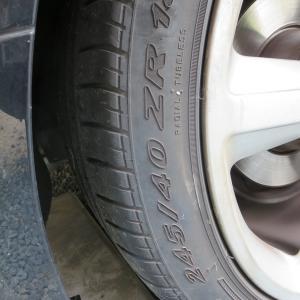 TTロードスターのタイヤが限界