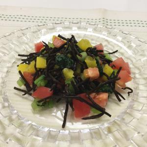 ひじきと小松菜のサラダ
