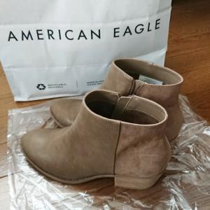 【50代主婦ファッション】秋冬用の靴★アメリカンイーグルのブーツが履きやすい♪