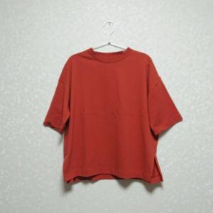 【ファッション】グローバルワーク★UVケアTシャツ(クルーT)オレンジ系にトライしてみた件!