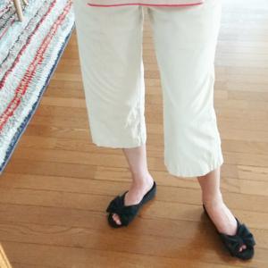【服】リネンのパンツしわ問題★私の簡単な対策法&着画アリ♪