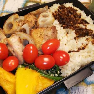 鶏肉レンコンのハーブ焼き弁当
