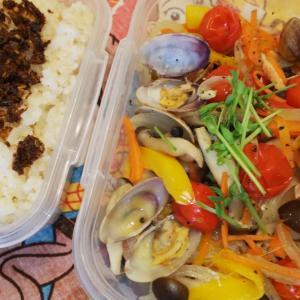 鮭のアクアパッツァ弁当