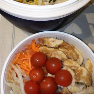 鶏むね肉の生姜焼弁当
