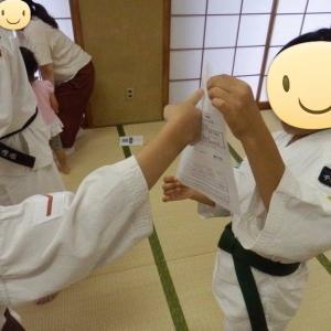 高洲コミュニティーセンター自主事業 第8回 少林寺拳法護身術教室 1回目