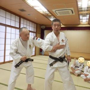高洲コミュニティーセンター自主事業 第8回 少林寺拳法護身術教室 3回目