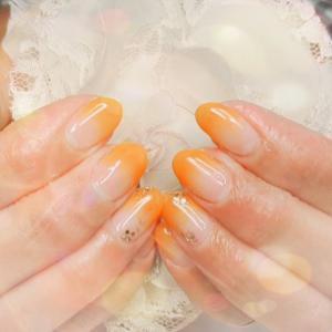 夏色 オレンジグラデーション