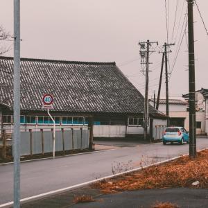 JR本楯駅前[山形県酒田市元縦・2020/1/23]