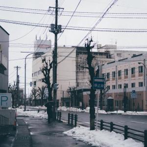横手駅前[秋田県横手市・2020/2/18]