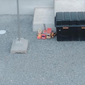 かわいい駐車場[山形県酒田市・2020/7/9]