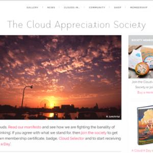 「雲を愛でる会」WEBサイト