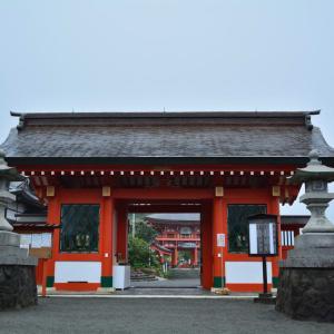 令和初日は朝から神社を参拝した後、朝うどん!?(GW九州旅2019報告 その6)