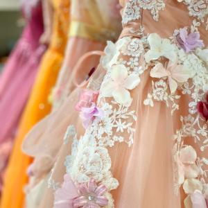カラードレス ピンクニコル ボリューミーなプリンセスライン♡大阪店 滋賀店 岐阜店