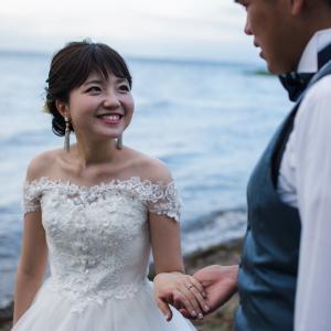 琵琶湖でフォトウェディング