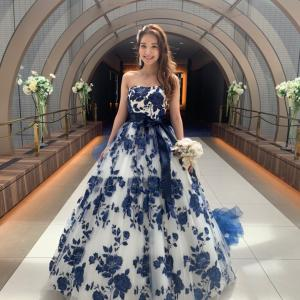 イサムモリタのカラードレス♪