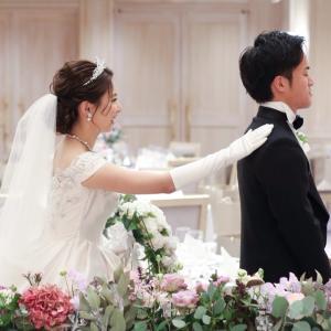 ファーストミート♬花嫁さまのウエディングドレスはジルスチュアート♡