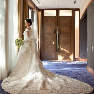 ホテル阪急インターナショナル ウェディングレポ♪チャペルウェディングドレス