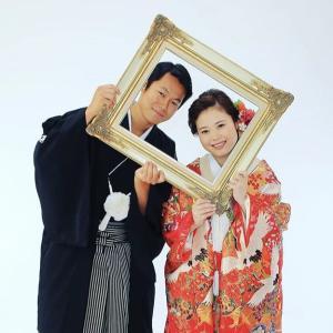 花嫁和装のフォトウェディング♪色打掛でスタジオ前撮り撮影でした。阪急豊中 丸福本店