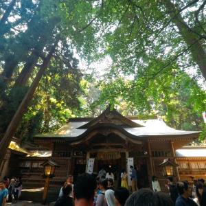 【GW九州ドライブ旅行】宮崎県 高千穂峡⑥-高千穂神社-