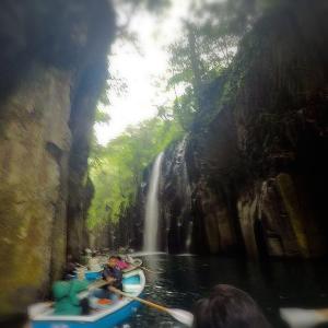 【GW九州ドライブ旅行】宮崎県 高千穂峡⑧-ボートからの景色-