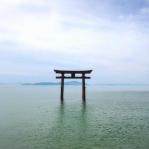 【自粛解除後 初の週末】滋賀県 白鬚神社