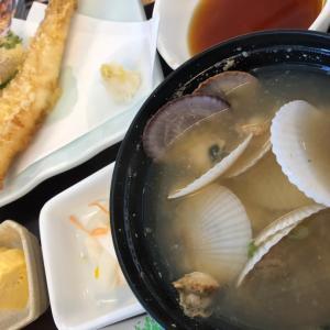 今日のランチ(天ぷら定食)
