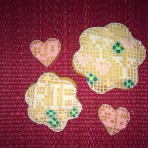 刺繍柄クッキー☆
