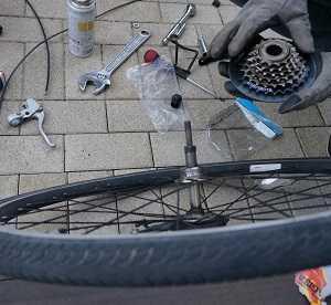 【小6】お下がり自転車を新品同様に直して次の人へ!【小1】