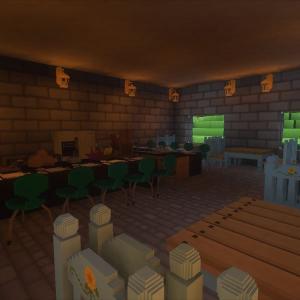 衛兵宿舎の食堂を整備する!警護室の作成(5)