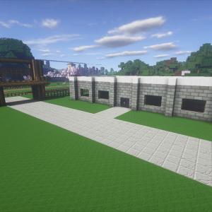 衛兵の宿舎とムラクモリゾートとの接続をする!警護室の作成(4)