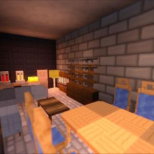 衛兵の待機所と警護隊長の部屋を整備しよう!警護室の作成(3)