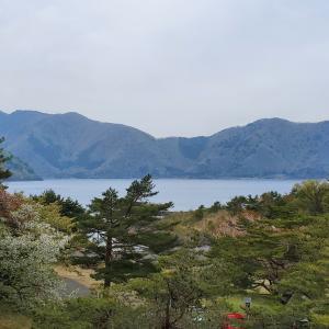 本栖湖~SUP&カヤック