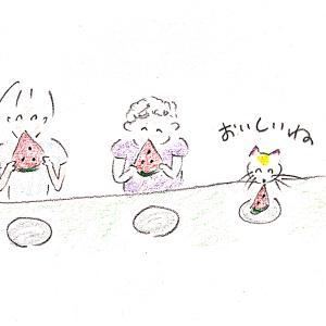 消化試合とスイカ