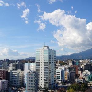 厚木市内のマンションからの眺望♪大山と相模川♪ 夏はきっと花火も♪