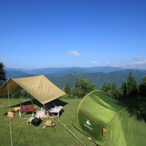 今週末こそはキャンプじゃ
