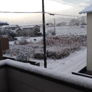 福岡も大雪